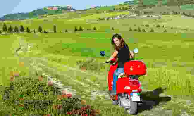 Explore Tuscany by Vespa (Dreamstime)