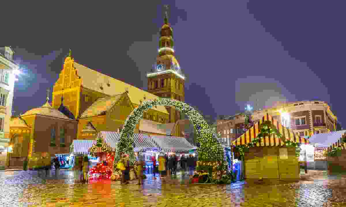 Riga Christmas Market (Dreamstime)
