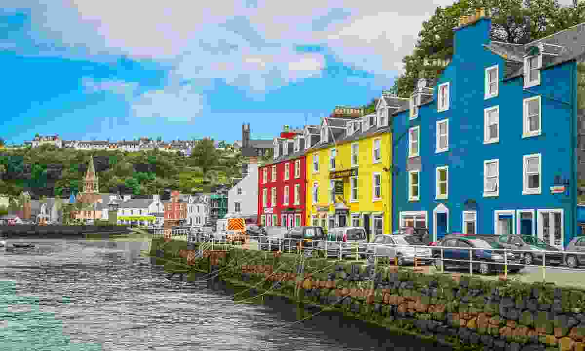 Tobermory is the capital of, and the only burgh on, the Isle of Mull in the Scottish Inner Hebrides (Dreamstime)