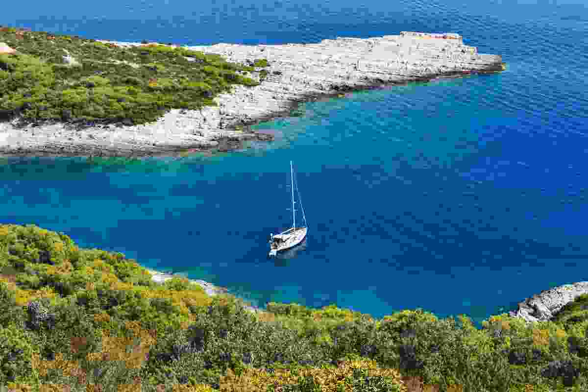 Sailing the islands off Croatia (Dreamstime)