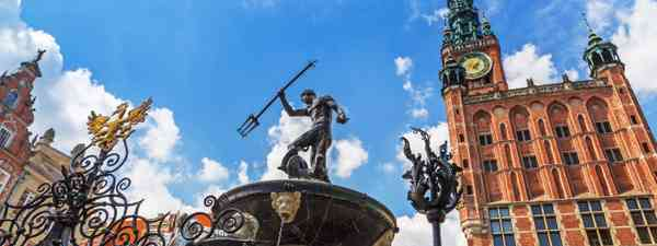 The Neptune fountain (Dreamstime)