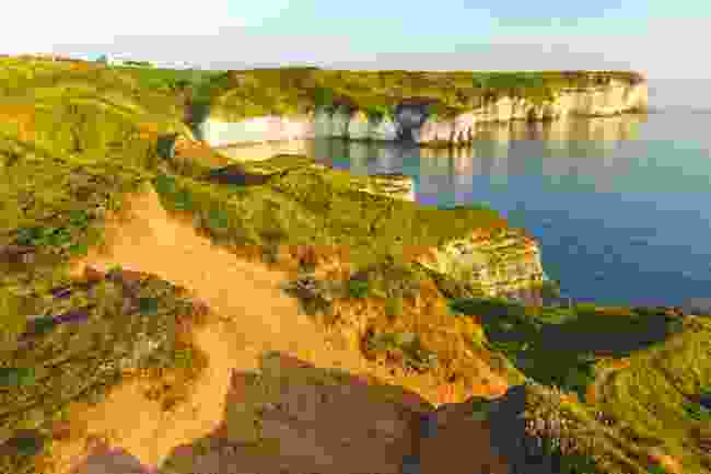 Flamborough Head's white cliffs (Shutterstock)