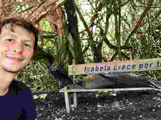 Wildlife on Isabela Island seem to be enjoying the freedom (Ian Melvin)