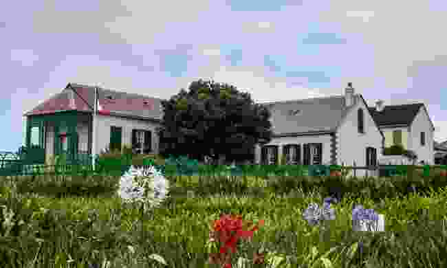 The house Emperor Napolean Bonaparte was exiled to in 1815 (St Helena Tourist Board)