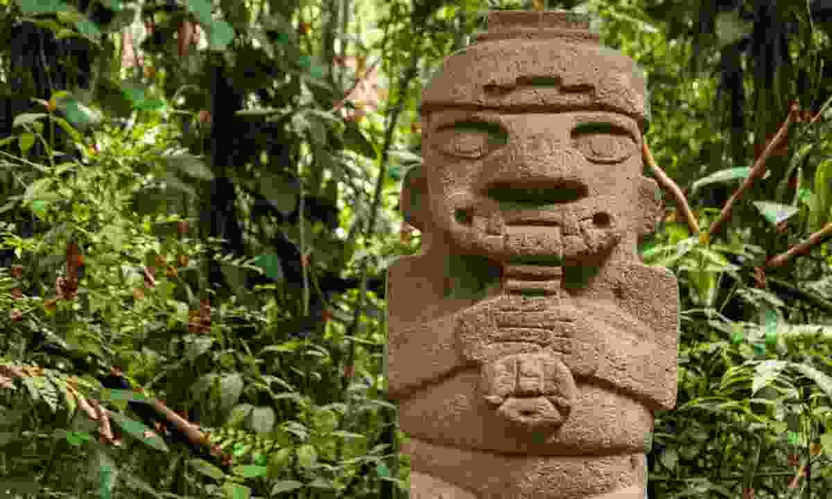 San Agustín Archaeological Park (Shutterstock)