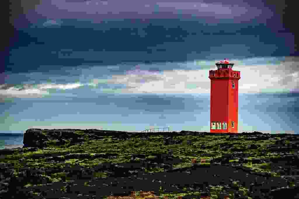 Svörtuloft lighthouse on  Snæfellsnes' west coast (Mark Stratton)