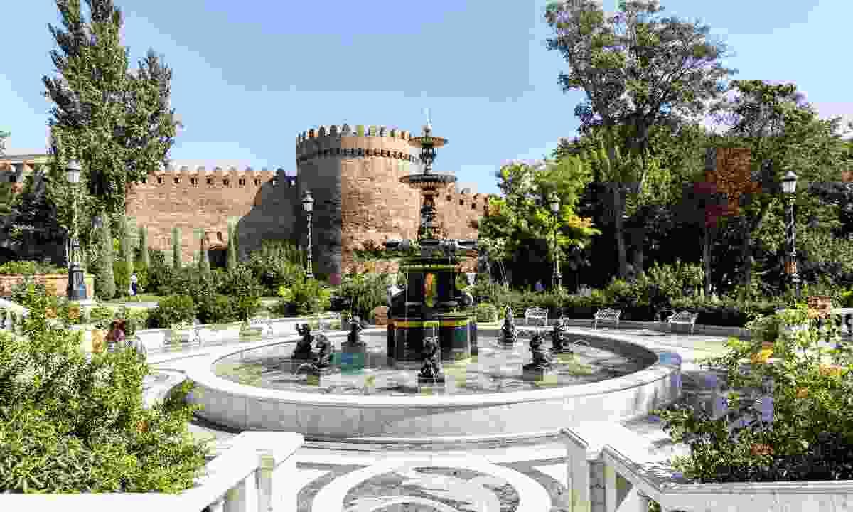 Philarmonic Garden in Azerbaijani capital Baku (Shutterstock)