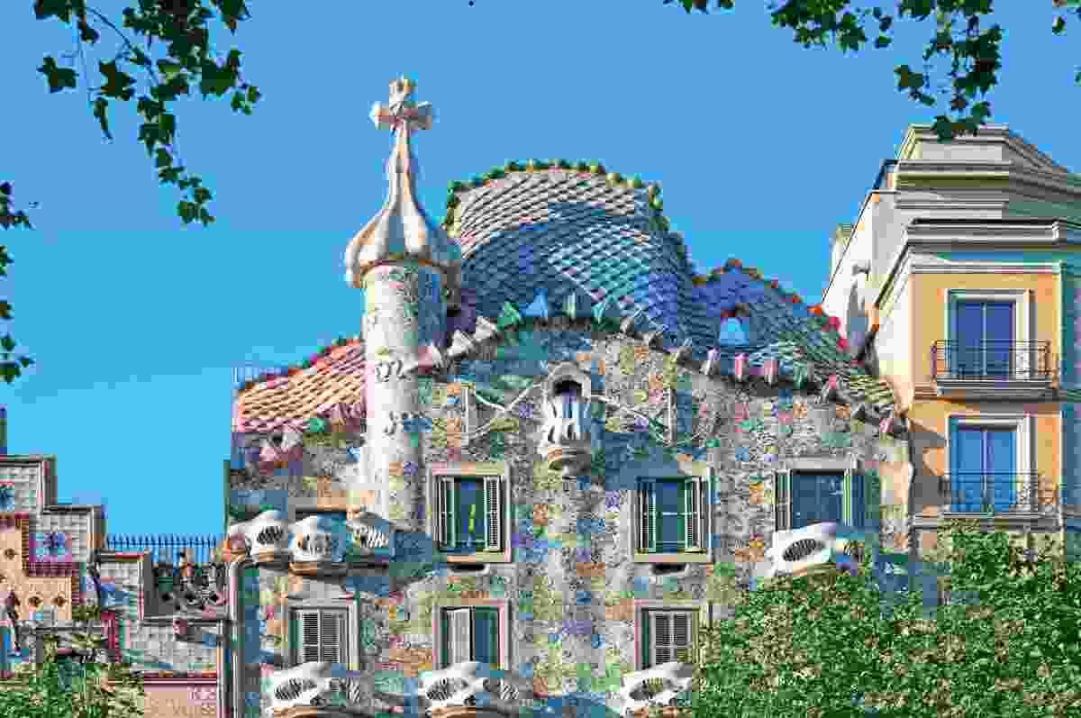 Casa Battlo, Barcelona (Shutterstock)