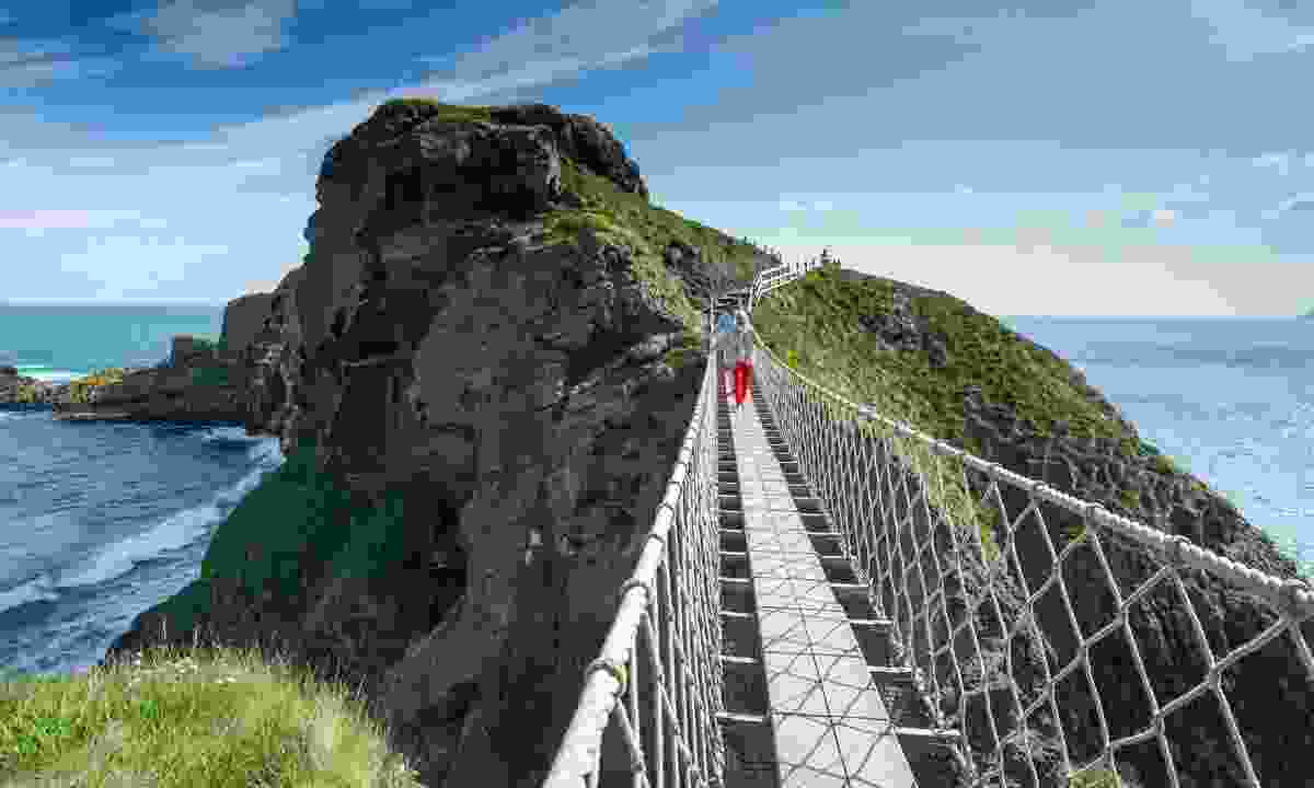 The Carrick-a-Rede Rope Bridge (Tony Pleavin)