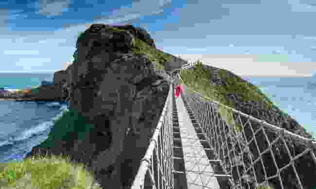 The Carrick-a-Rede Rope Bridge (Tony Pleavin)