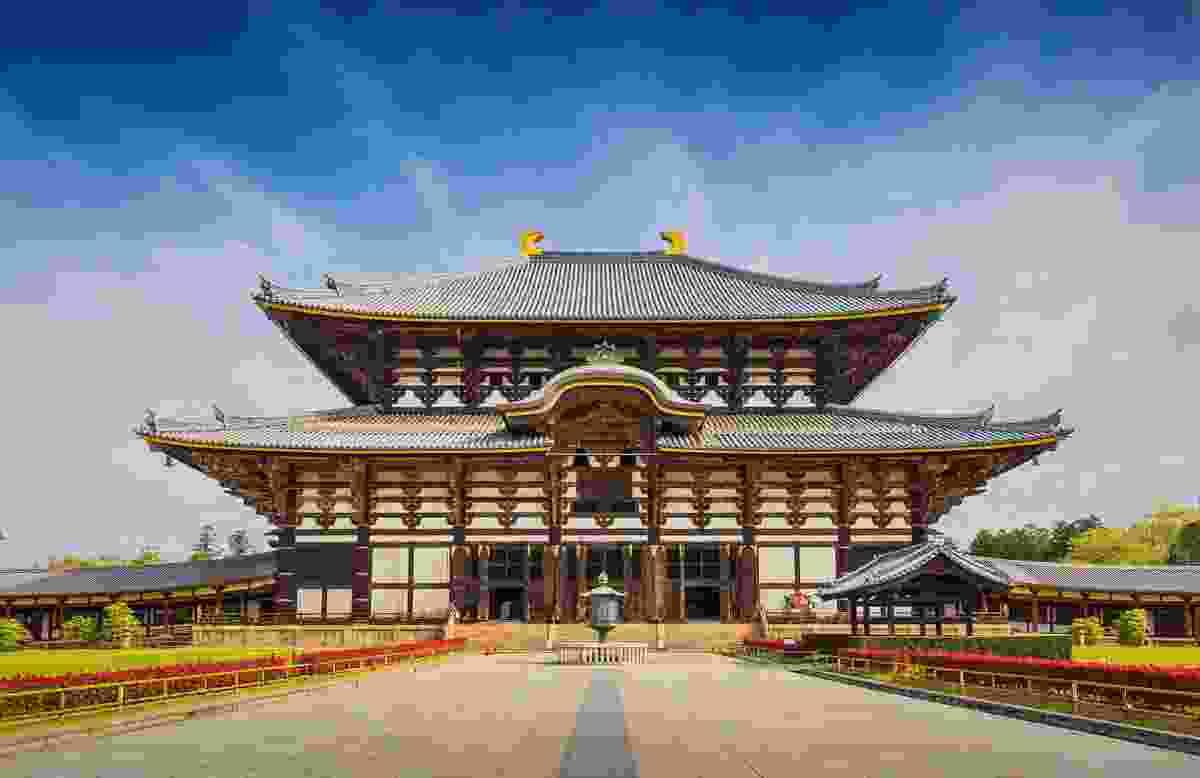 Todai-ji Temple in Nara, Japan (Shutterstock)