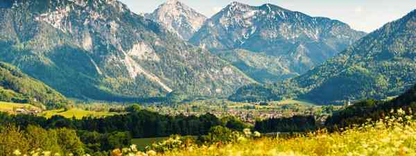 Ruhpolding's landscapes