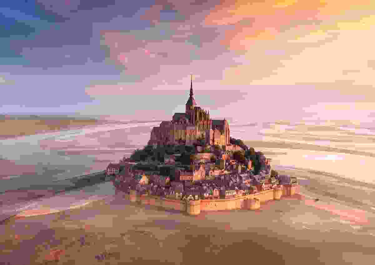 The magnificent Mont: Mont Saint-Michel, Normandy, France (Donald Yip)