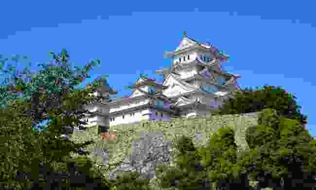 The 'white heron taking flight' - majestic Himeji Castle
