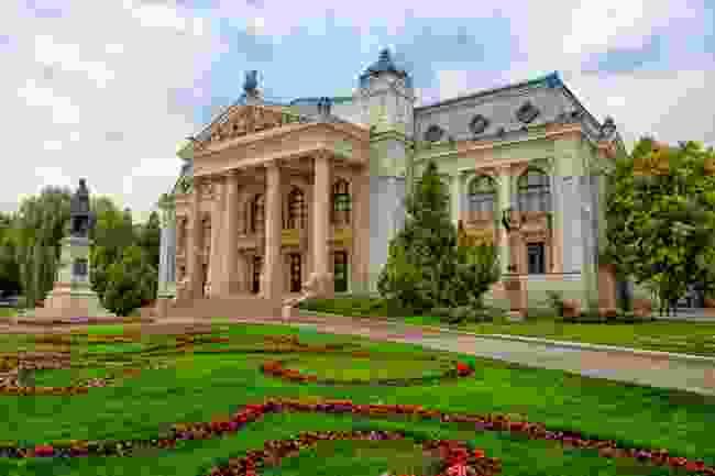 Iasi National Theatre, Romania (Shutterstock)