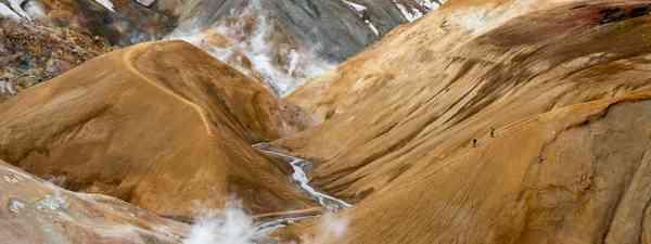 Hveravellir Nature Reserve, aka Valley of Hot Springs  (Shutterstock)