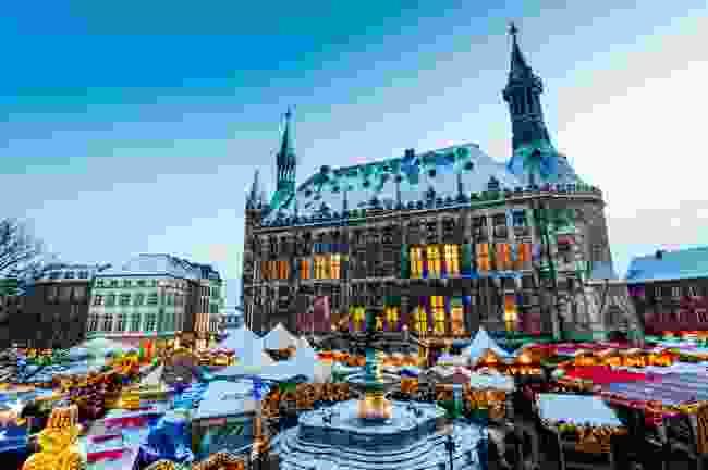 Aachen Christmas Market, Germany (Shutterstock)