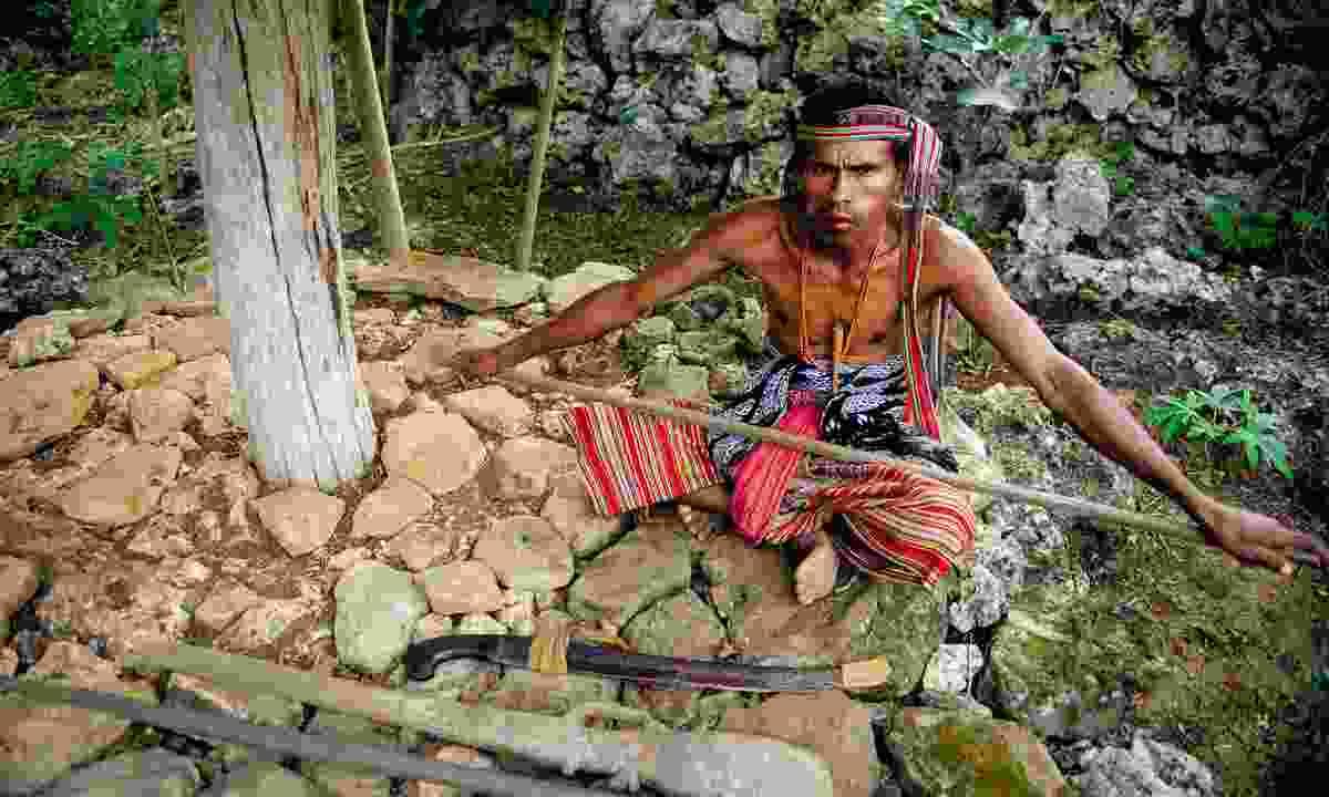 Nusa Tenggara west timor none village royal compound (Mark Stratton)
