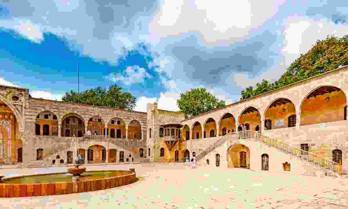 Lebanon's ochre Beiteddine Palace (Shutterstock)