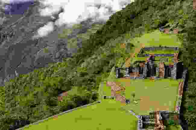 Despite its size, Choquequirao is sometimes thought of as a 'mini Machu Picchu' (Shutterstock)