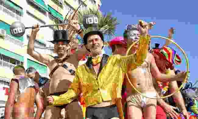 Revellers at Benidorm Pride (VisitBenidorm)