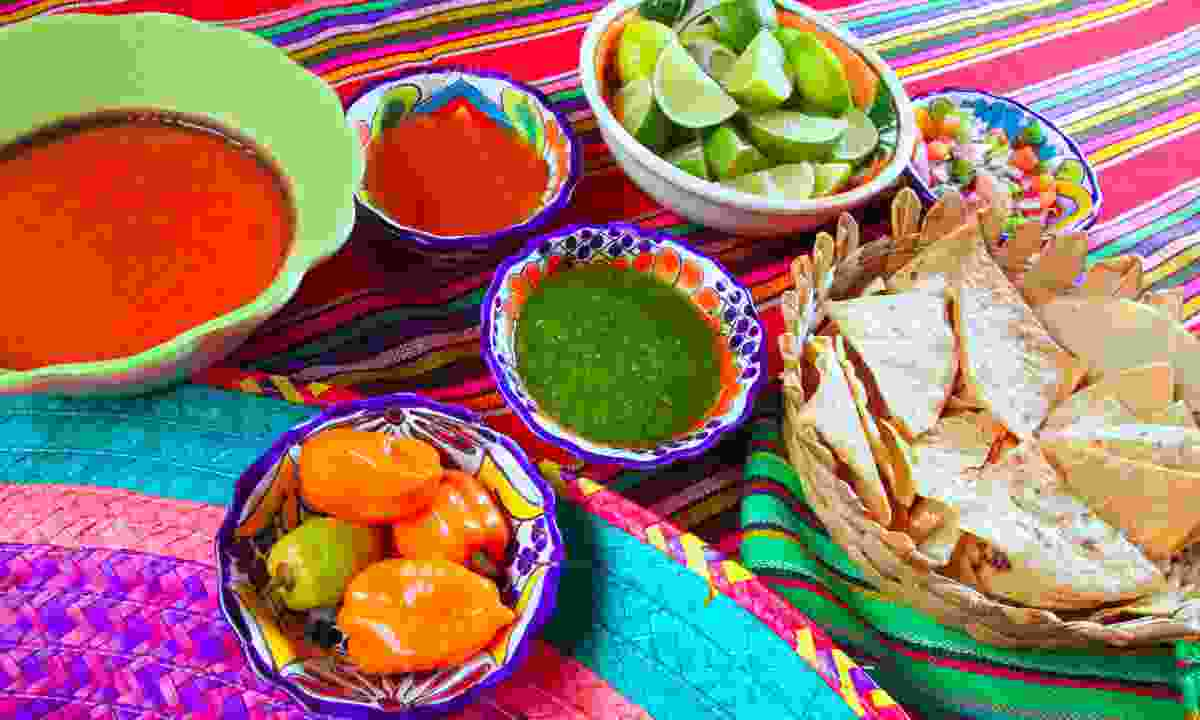 Mexican food (Dreamstime)