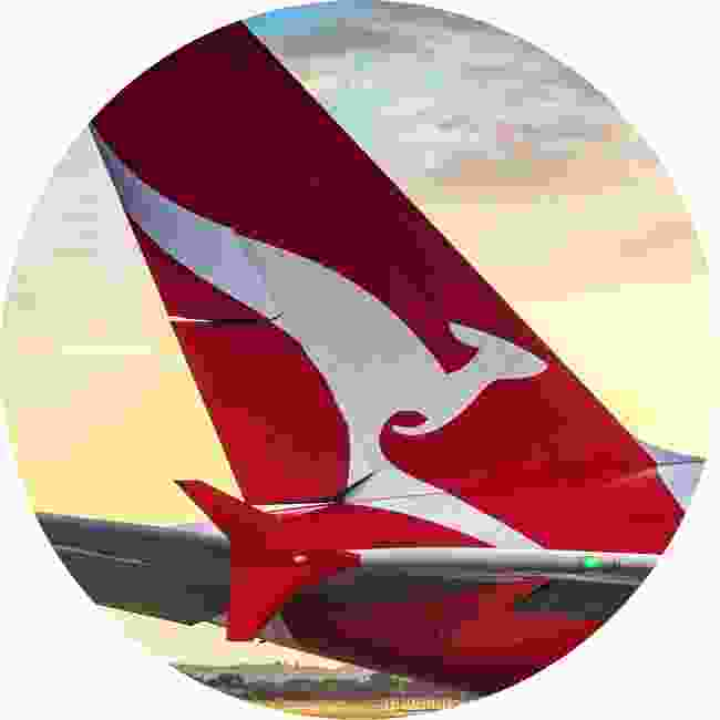 The famous flying kangaroo of Qantas (Shutterstock)