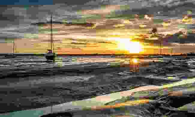Sunset over Leigh-on-Sea (Shutterstock)