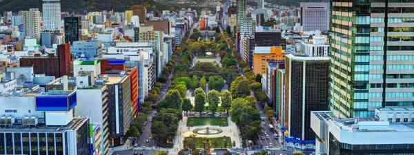 Odori Park, running through Sapporo (Shutterstock)