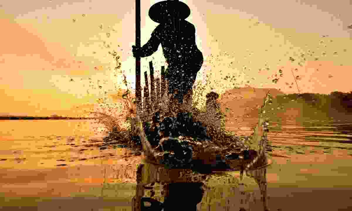 Mekong fisherman (Shutterstock)