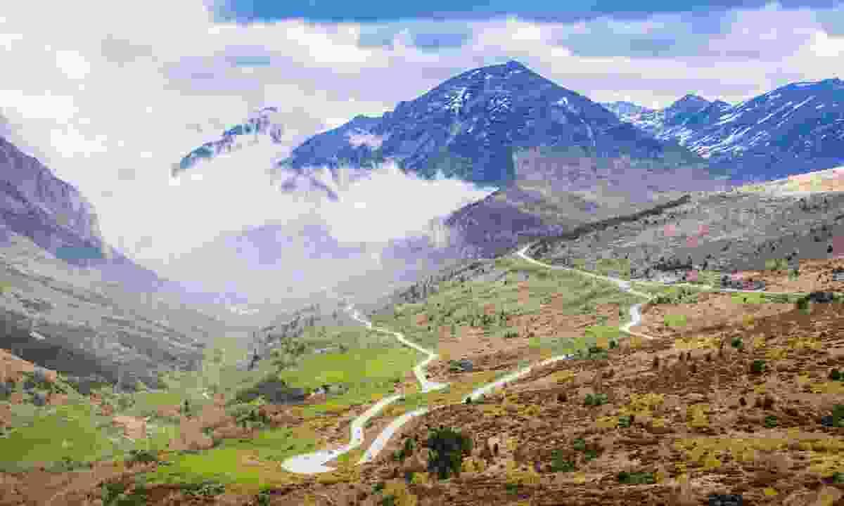 A road through Andorra la Vella (Shutterstock)