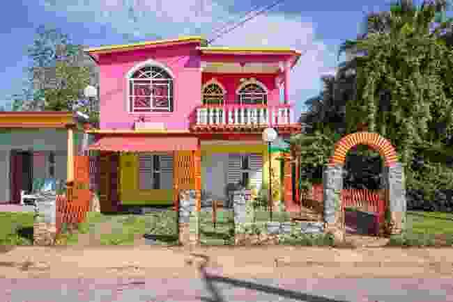A casa particular homestay in Cuba (Shutterstock)