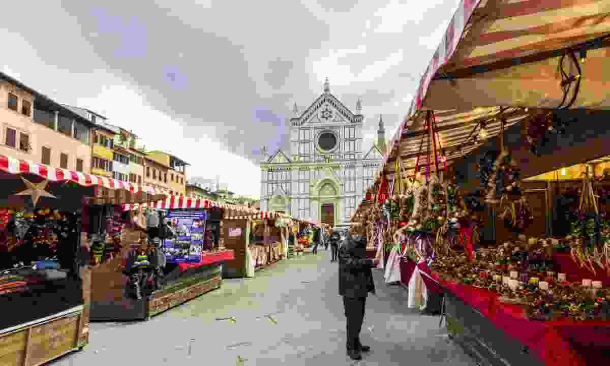Piazza Santa Croce market (Dreamstime)