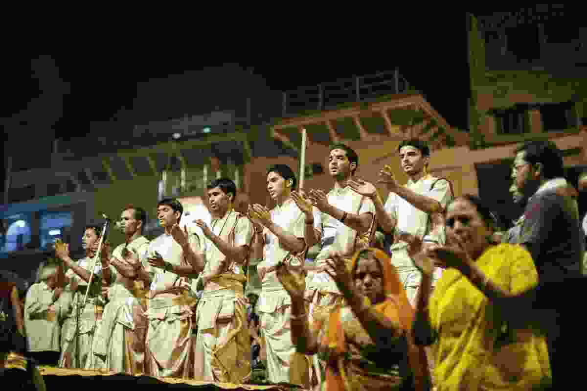 Puja ceremony. (Dreamstime)