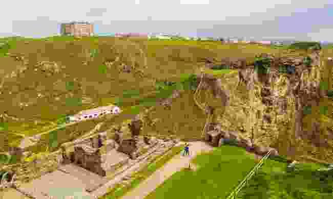 Tintagel Castle ruins (Dreamstime)