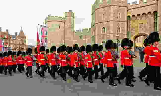 Watch the Changing of the Guard at Windsor Castle (Dreamstime)