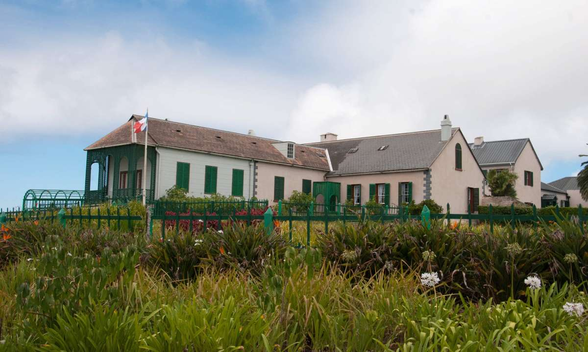 Longwood House was Napoleon's home for most of his stay (Lyn Hughes)