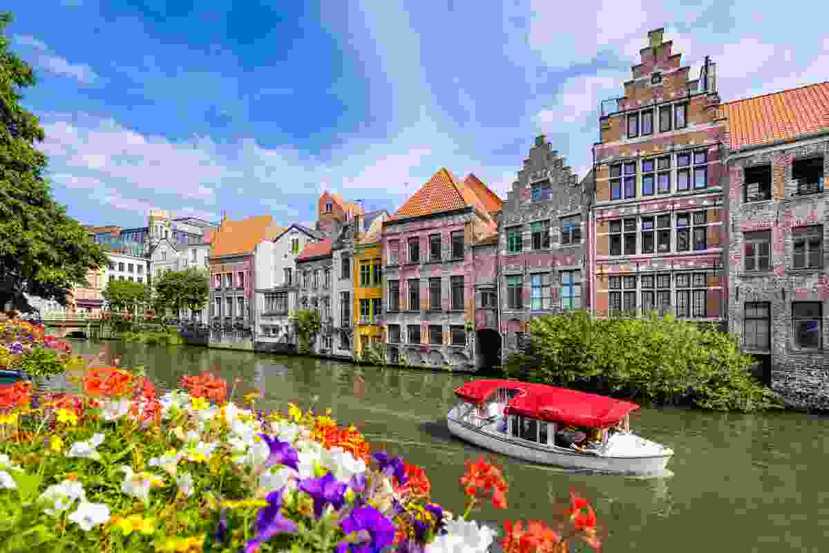Ghent, Belgium at its sunny best (Shutterstock)
