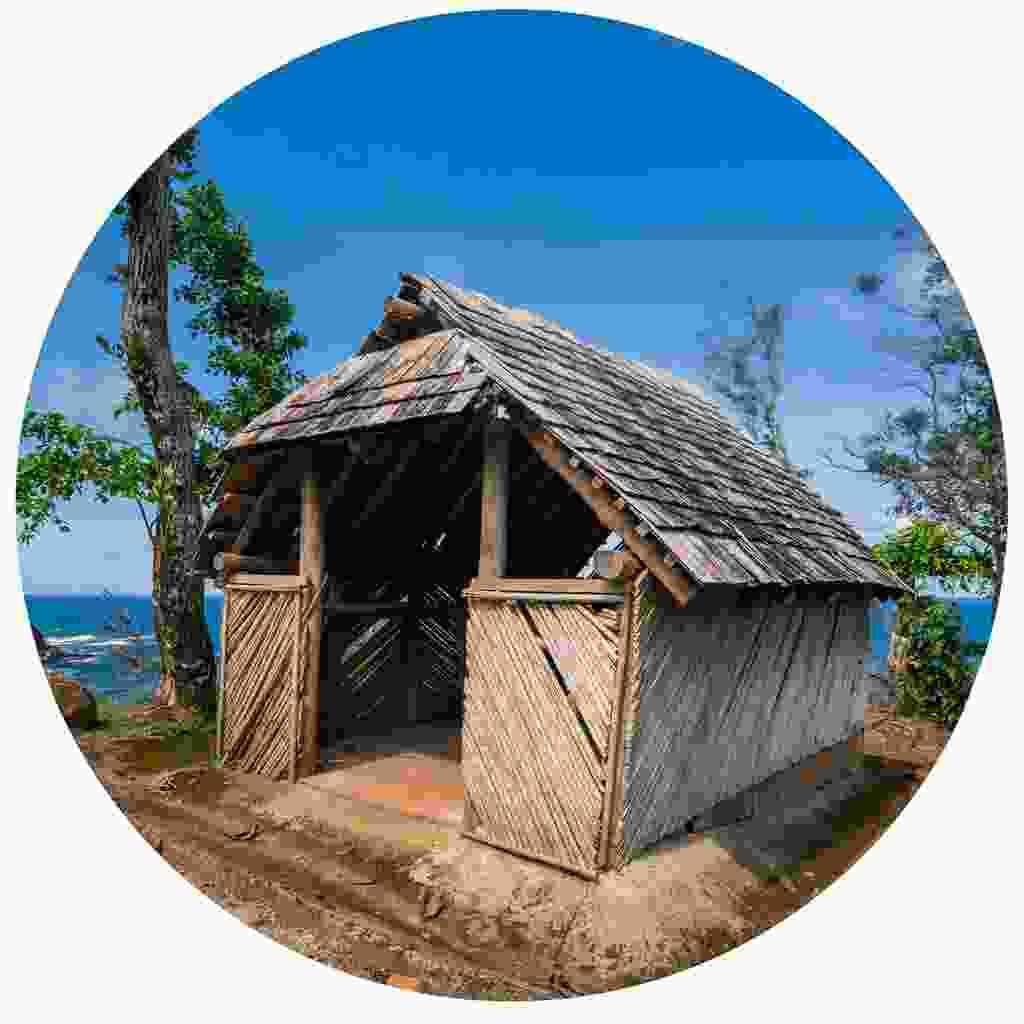 Kalinago hut