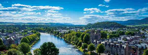 A gorgeous view of Inverness, Scotland (Shutterstock)