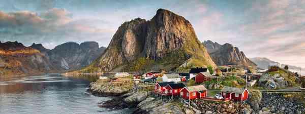Lofoten Islands, Norway appear in TV series Twin (Shutterstock)