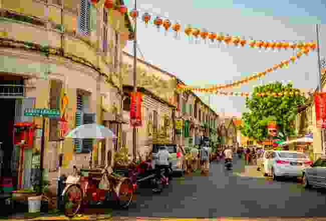 Lebuh Armenia, a historic street in George Town, Penang, Malaysia (Shutterstock)