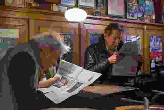 Amsterdam bruin café. Amsterdam, the Netherlands (Victoria Maguire-Rajpaul)