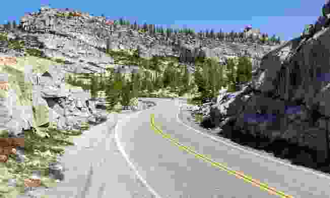 The Tioga Pass (Shutterstock)