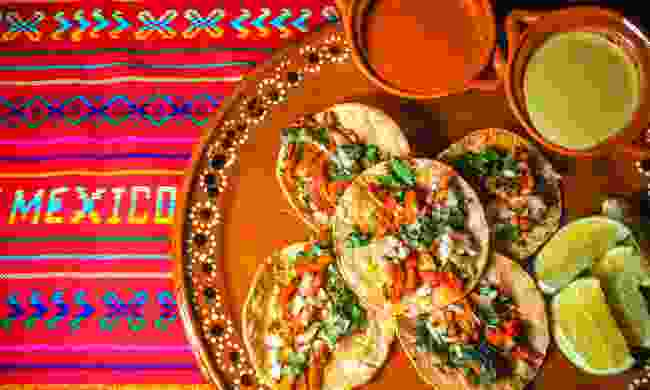 Indulge with Mexican cuisine (Shutterstock)