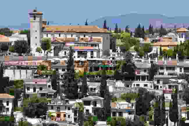 The view from Alhambra, Granada (Shutterstock)