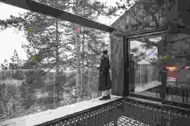Stay at the Treehotel (Tina Stafrén/imagebank.sweden.se)
