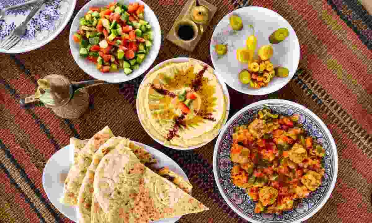 Jordanian food (Shutterstock)