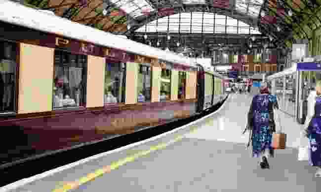 Leaving behind luxury at London Victoria (Phoebe Smith)