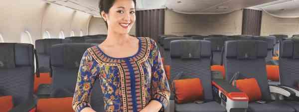 Singapore Airlines' cabin crew member (Singapore Airlines)